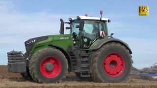 Bodenbearbeitung mit FENDT 1050 Vario Tractor und Köckerling Vector 620- CabView - Grubbern