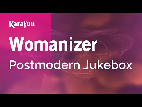Chords for Karaoke Womanizer - Postmodern Jukebox *
