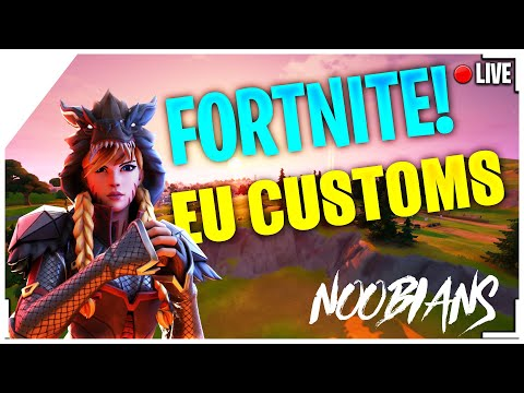 (EU) CUSTOM MATCHMAKING FASHION SHOW SOLO/DUO/SQUAD SCRIMS FORTNITE LIVE (PS4,XBOX,MOBILE,SWITCH,PC)