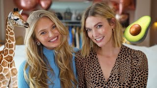 Questions For Karlie featuring Romee Strijd | Karlie Kloss