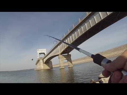 Bank Fishing Lake Texoma Spillway