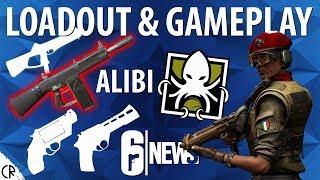 Alibi Gameplay Loadout & Gadget - Para Bellum - 6News - Tom Clancy's Rainbow Six Siege - R6
