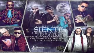 siente remix j.king y maximan ft ñengo flow, de la ghetto, jamsha,randy, arcangel