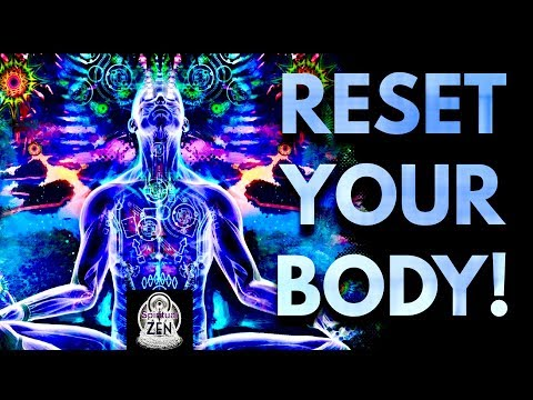 ☯RESET YOUR BODY 2 ITS OPTIMAL CELLULAR STATE! COSMIC WHOLE BEING REGENERATION! FULL HEALING 528 HZ☯