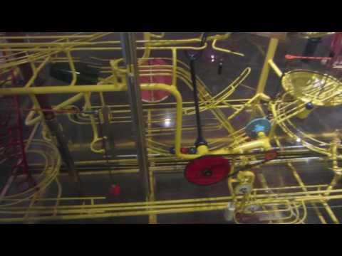Baltimore Science Museum's Musical Rube Goldberg Machine
