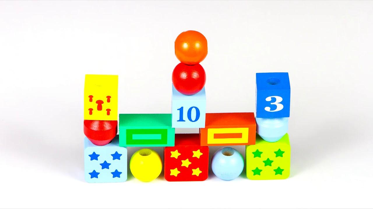 Шнуровки бусы Шнуровочка КШЦ 3001 Alatoys (Алатойс) - развивающие игрушки