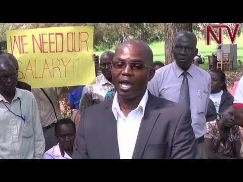 Teachers in Njeru municipality go on strike over unpaid salaries