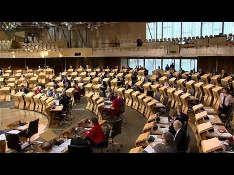 Afternoon Plenary - Scottish Parliament: 17th March 2016
