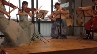 弦楽四重奏版、NHK 連続テレビ小説「花子とアン」主題歌「にじいろ」で...