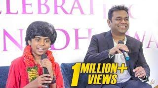 Lydian Nadhaswaram SHOCKS A R Rahman on Stage | The World's Best