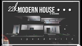 Roblox   Bloxburg   22k Modern House
