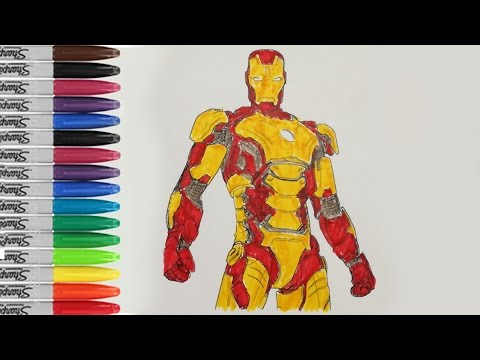 Ironman Coloring Pages Ironman 3 Iroman Pages Fun SAILANY Coloring Kids