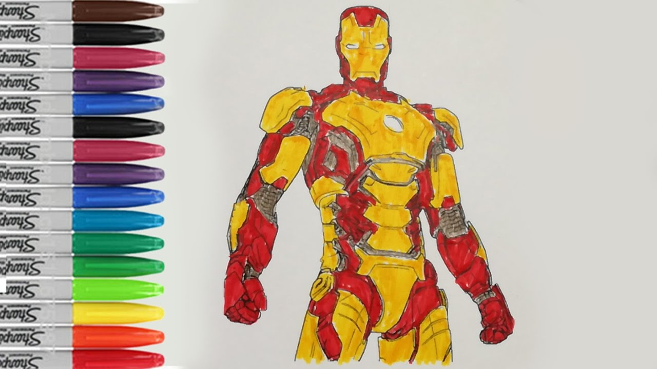 ironman coloring pages ironman 3 iroman pages fun sailany coloring