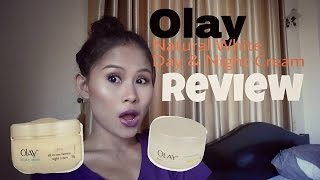 Olay Natural White Day and Night Cream Product Review