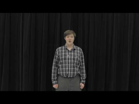 Auditon video (The Lark in The Clear Air by Sir Samuel Ferguson)