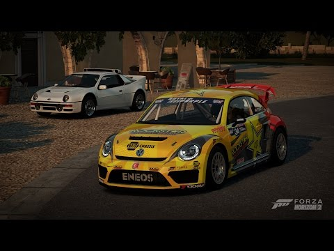 Forza Horizon 2 - 2014 Volkswagen Beetle GRC Gameplay HD