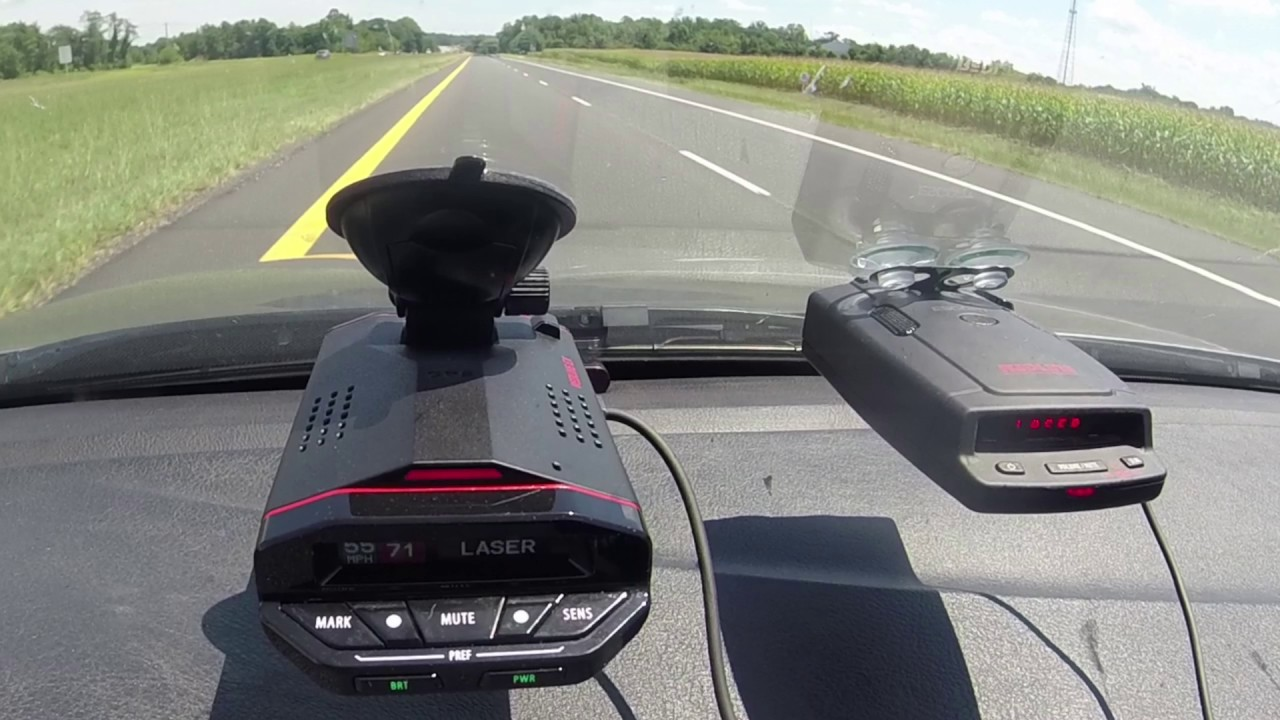 Escort Redline EX & Veil G5 5 Police Laser Jam To Gun