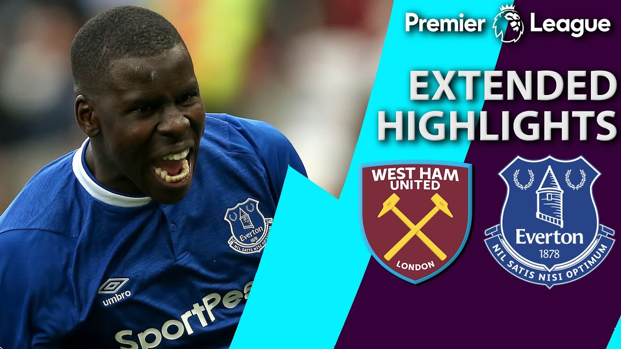 West Ham v. Everton | PREMIER LEAGUE EXTENDED HIGHLIGHTS | 3/30/19 | NBC Sports