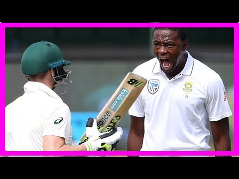 South Africa fast bowler Kagiso Rabada faces ban for shoulder bump - by Sports News