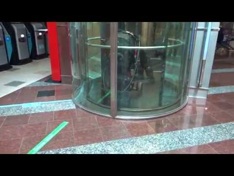 AMAZING 1992 KONE M Fast Traction Scenic Elevator/Lift@Plaza Shopping Center, Salo, Finland