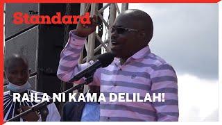 Raila ni kama Delilah wa Bibilia, amenyoa Uhuru nywele  ~ Emurua-Dikir MP Johana Ngeno