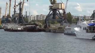 Черкассы. Украина . Район Мытница и Речной порт Фестиваль танца.