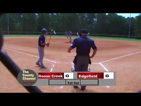 2019 Dixie Youth Ozone State Tournament Goose Creek V Edgefield 071319