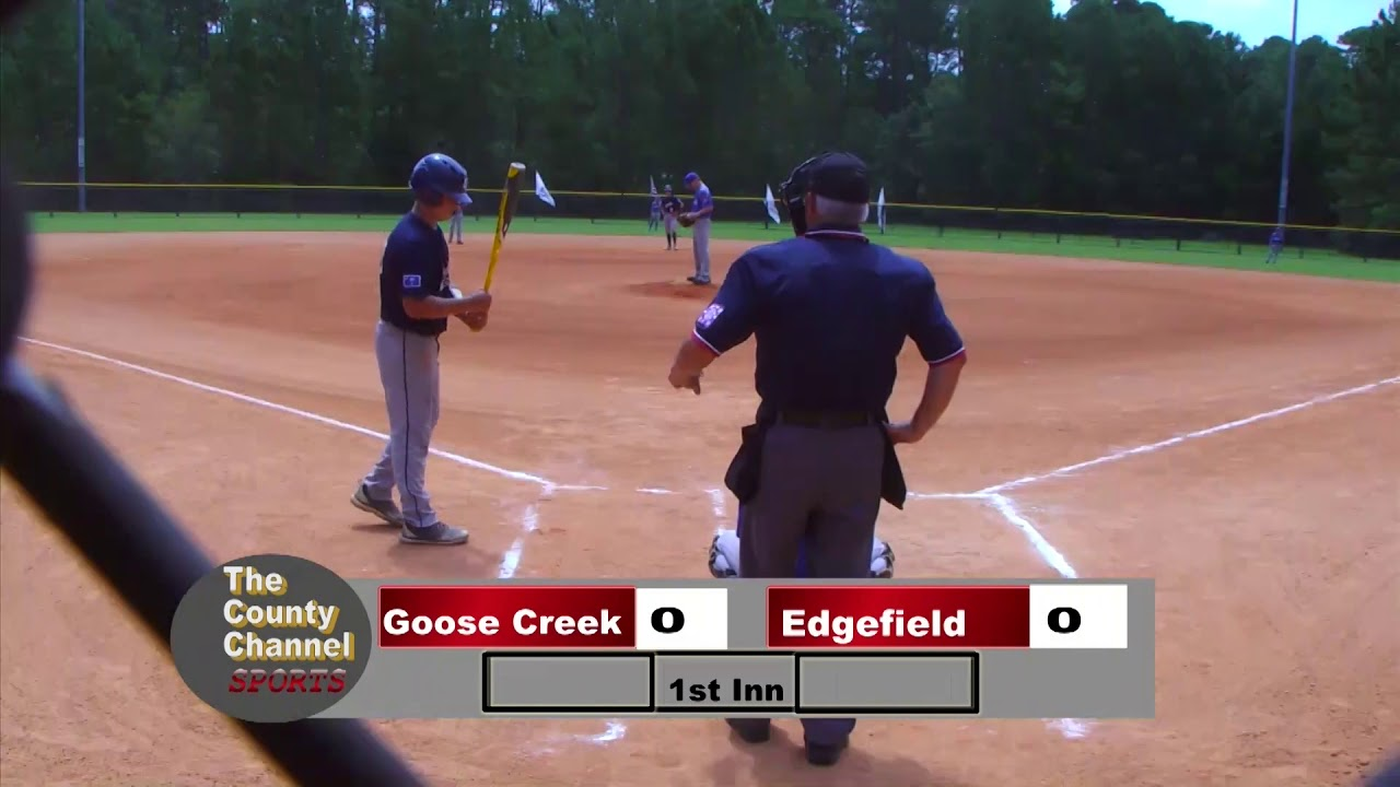 2019 Dixie Youth Ozone State Tournament Goose Creek v Edgefield 071319