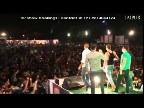 Yo Yo Honey Singh at Jaipur.