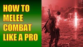 Shadow of Mordor Gameplay - How to Melee Combat Like a Pro (Epic 5 Captain Battle!)