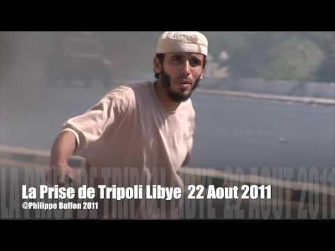 La chute de Tripoli Libye