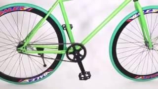 Sportslink Việt Nam - Xe đạp Fixed Gear Single (Xanh lá phối đen)
