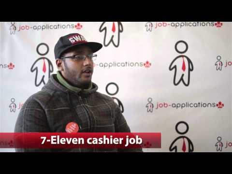 7-Eleven Cashier Job