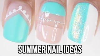 10 EASY Summer Nail Ideas! Part 2 | Nail Art Compilation