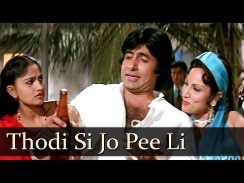 Thodi Si Jo Pee Li Hai - Amitabh Bachchan - Namak Halal - SuperHit Hindi Song