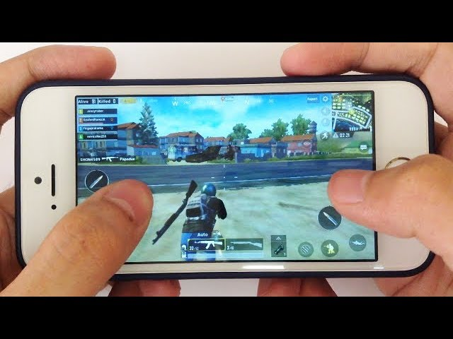 iPhone 5s: Gaming Performance Test in 2018 -  PUBG Gameplay