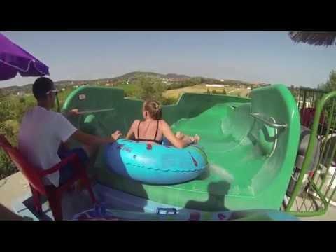 Crazy River Water Slide at Annagora Waterpark