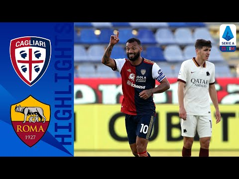 Cagliari AS Roma Goals And Highlights