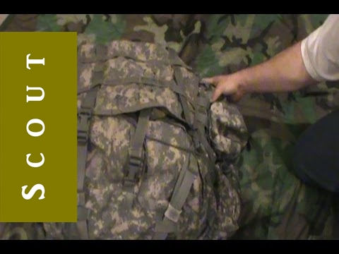 US Army MOLLE II Large Rucksack Bug Out Bag Review - Scout Prepper