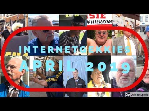 De Internetgekkies van de maand April 2019