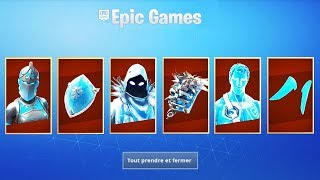 ON BUY THE NEW LEGENDES GLACIAIRES PACK on FORTNITE BATTLE ROYALE!
