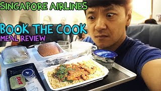 Singapore Airlines PREMIUM Economy FOOD Review: Book the Cook