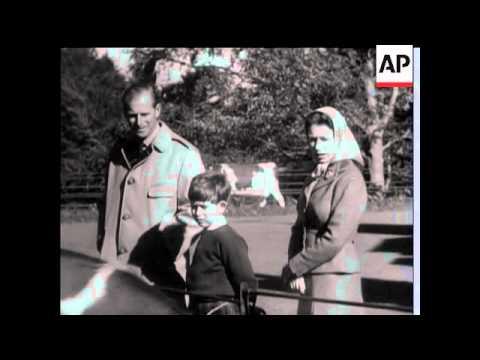 Royal Family on Holiday - 1957