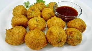 Potato Bonda - Aloo Bonda || Batata vada || Easy & Tasty Tea time snack