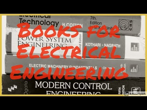 Books for reference  -  Electrical Engineering