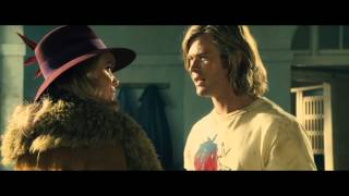 Rush- James Hunt (Chris Hemsworth) meets Suzy (Olivia Wilde)