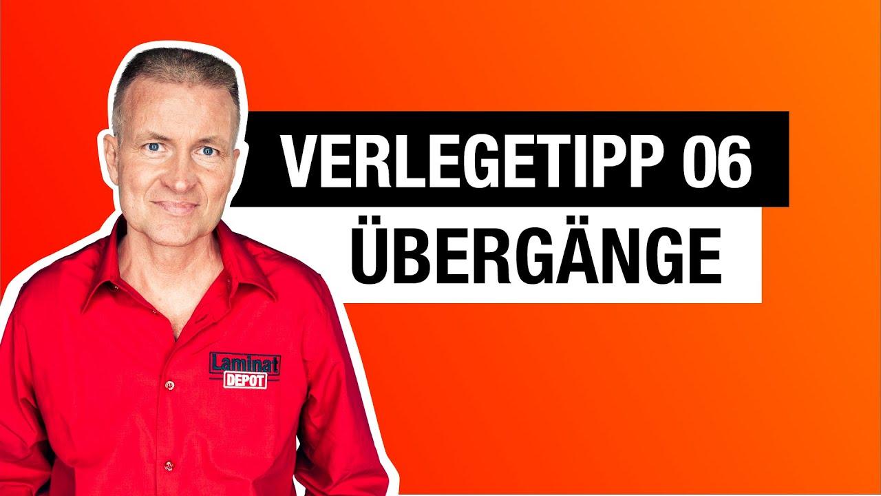 Verlegetipp 06 Ubergange Youtube