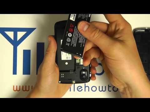 How To Insert Battery - ZTE Skate