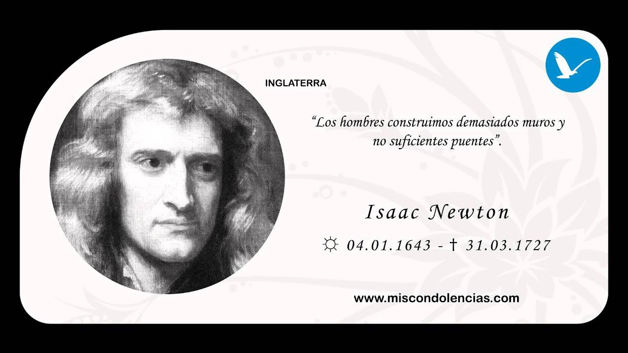 5 Frases De Isaac Newton | isaac newton frases pinterest