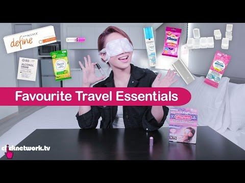 Favourite Travel Essentials - Tried and Tested: EP90